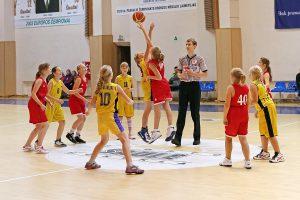"""Lietuvos vaikų mergaičių (2001-2002 m. g.) """"C"""" krepšinio čempionato """"Manija"""" rungtynės"""
