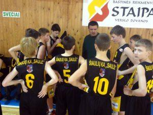 Lietuvos jaunučių vaikinų (2001 m. g.) pergalė