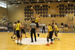 """Šiaulių KA """"Saulės"""" jaunieji krepšininkai (2001 m. g.) tarptautiniame turnyre laimėjo bronzos medalius"""