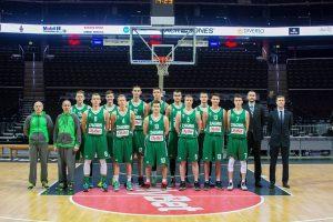 Tadas Pažėra ir Mantvydas Žukauskas Eurolygos jaunimo atrankos turnyre užėmė I-ą vietą