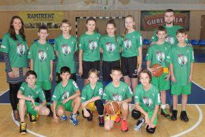 Vasario 7 d. Šiaulių arenoje JR. NBA Lietuva