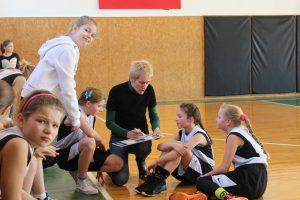 """Lietuvos mergaičių (2003 m. gim.) krepšinio čempionato """"Pirmasis iššūkis"""" rungtynės"""