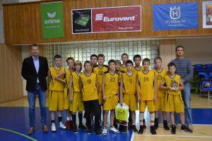 Tarptautinis krepšinio turnyras M. Žukausko taurei laimėti