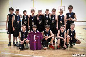 Trenerio Egidijaus Vasiliausko berniukų komanda baigė sėkmingą sezoną