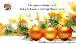 Su šventėmis !