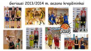2013/2014 m. sezono uždarymo šventė
