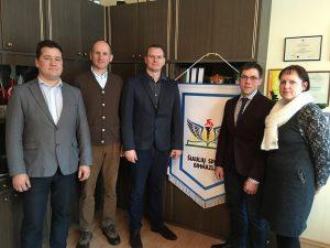 Šiauliuose lankėsi Lietuvos krepšinio federacijos atstovai