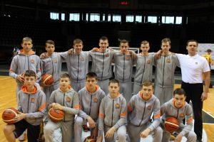 """Krepšinio akademijos """"Saulė"""" jaunučių vaikinų U15 (2001 m. g.) komandos pergalės"""